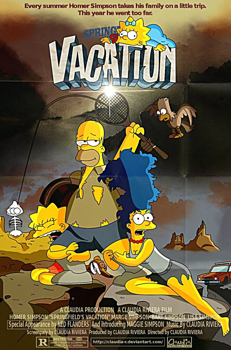 the simpsons art | the simpsons movie parodies by claudia r