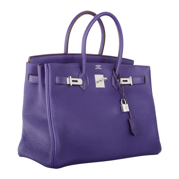 Hermes Birkin Bag 35cm Iris