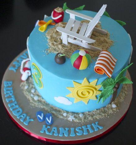 25+ best Beach Theme Cakes trending ideas on Pinterest ...