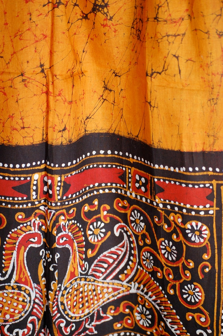 Batik Shantiniketan Scarf Decor Ideas Hobbies Diy S