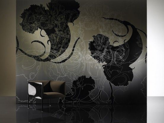 Amazing Black and White Wallpapers with Cool Patterns from Iris Maschek