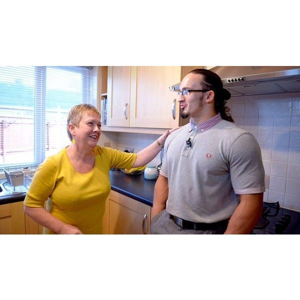 NXT Champion Adrian Neville's Newcastle homecoming photos ❤ liked on Polyvore