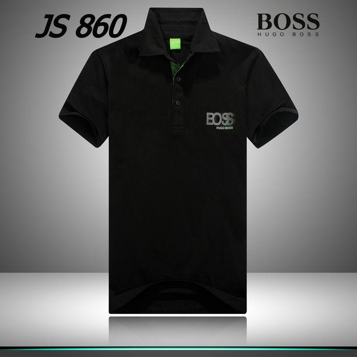 HUGO BOSS -  Men's Polo Shirt Fashion Black
