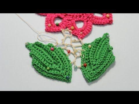 Как вязать сеточку в ирландском кружеве.Irish crochet. - YouTube