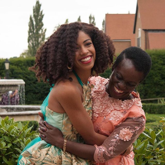 Happy Mother's Day   Mother Daughter   Natural Hair   Twist Out   Big Hair Don't Care   Care Free Black Girl   Love  and Smiles   Melanin Beauty   Inspirational Women   Type 4 Hair   Afro