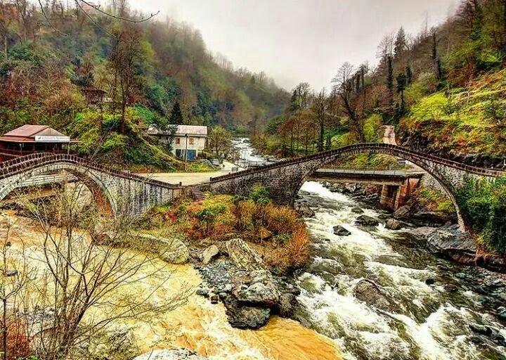 Çifteköprü Arhavi Artvin TÜRKİYE