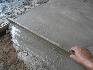 calçada cimento