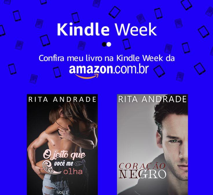 #kindleweek #kindle #amazon #literatura #romance #ebook #livros #promoção #socialmedia #design