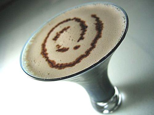 Strawberry Shortcake Shake and Almond Joy Martini