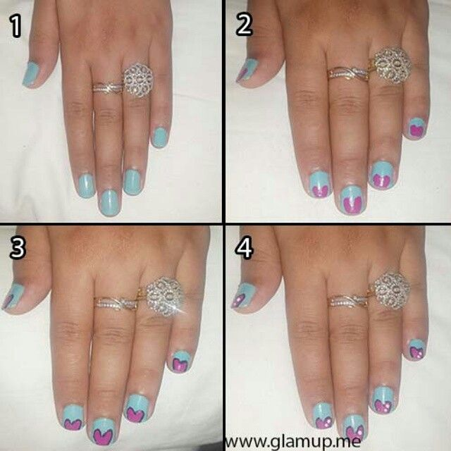 Most of girls love to do nail art:)