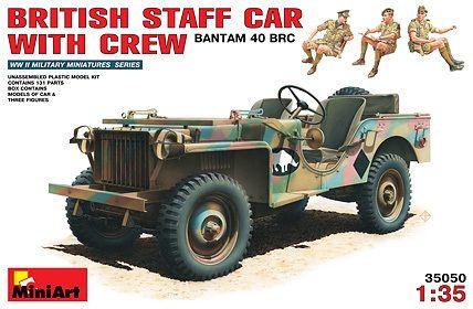 MiniArt British Staff Car met bemanning. € 21,75 http://www.modelbouwwildervank.nl/a-41715850/militaire-voertuigen-wwii-1-35/british-staff-car-met-bemanning/