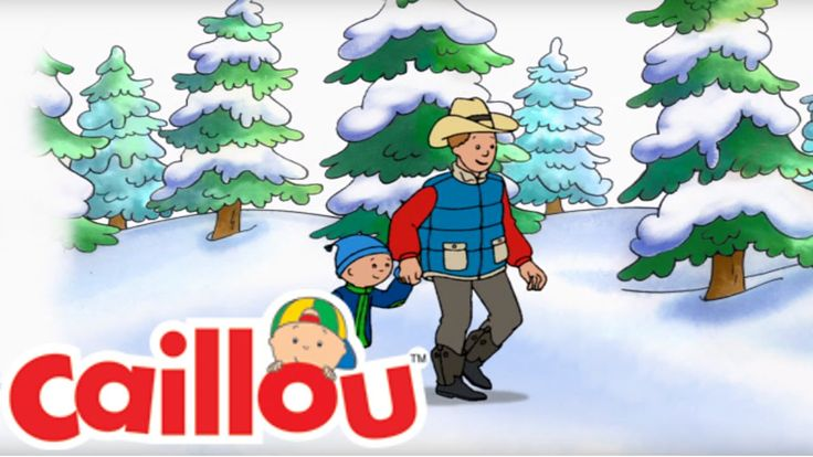 Help Caillou find the perfect Christmas Tree! Music from Caillou's Holiday Movie is now available on iTunes!