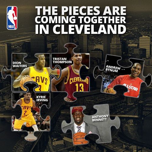 Cavaliers+2013   Cleveland Cavaliers 2013-2014 Roster Update Trade and Sign   NBA ...