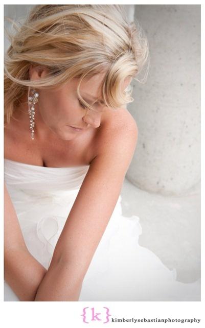 The bride - chandelier earrings