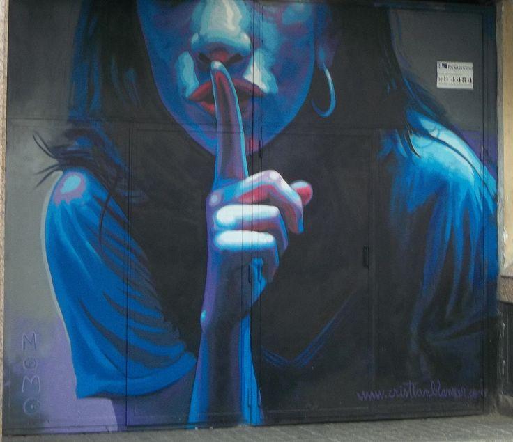 Weekend in Barcelona 2-4 August 2013. Streetart