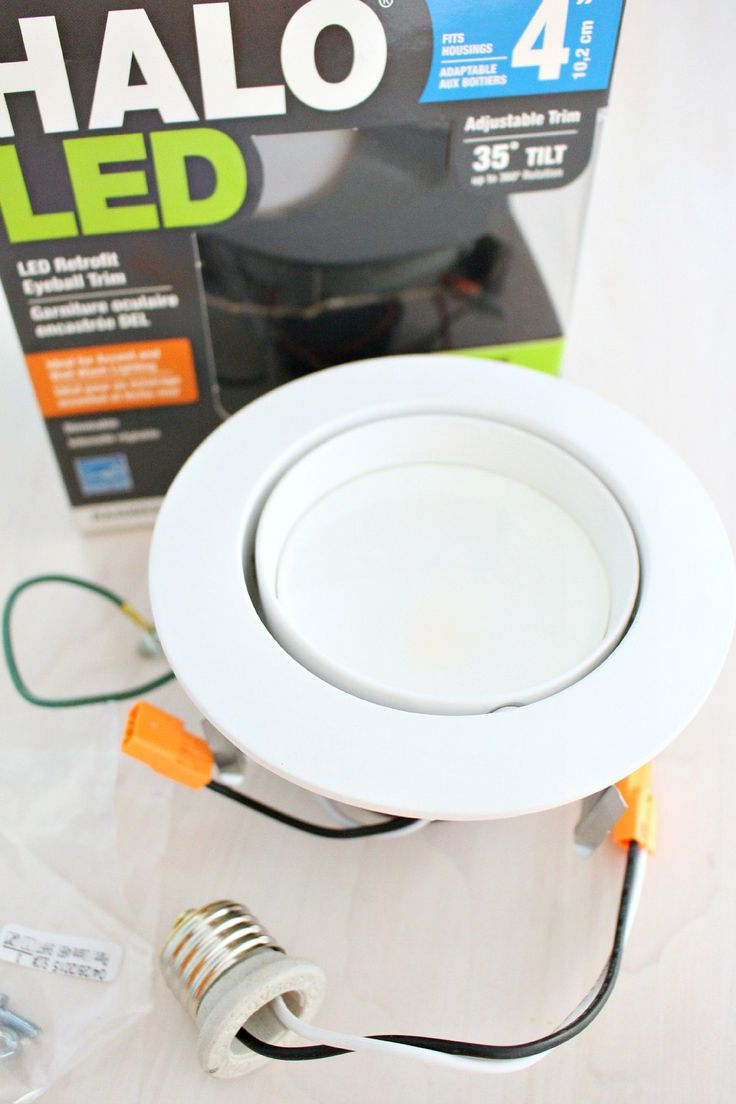 How to Update Pot Lights without Replacing the Can