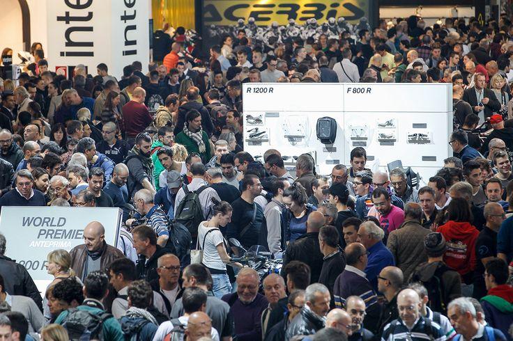 EICMA 2014 - People