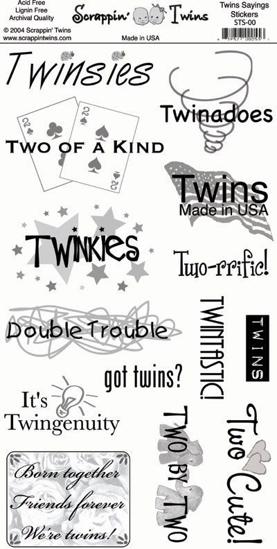 Identical Twin Quotes And Sayings