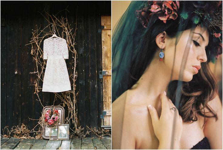 Siegrid Cain Editorial Maria dark mysterious inspiring wedding bride lingerie black veil candles winter braut_0005.jpg