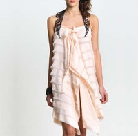 silk dress from twisted classics collection by katia delatola