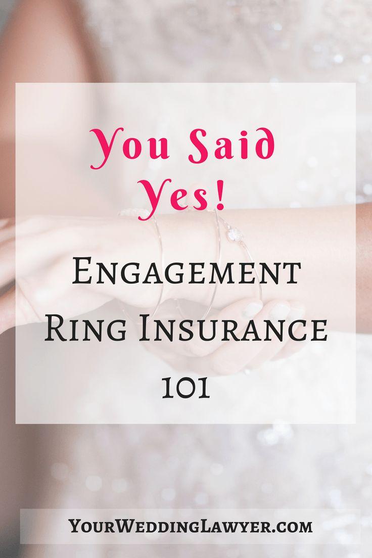 Engagement Ring Insurance I Wedding Insurance I Jewelry Insurance I Engagement Ring