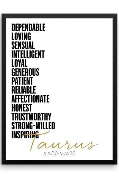 There's nothing better than showing off your great qualities! This print is a great way to add a little wall art to your space with a unique description of your