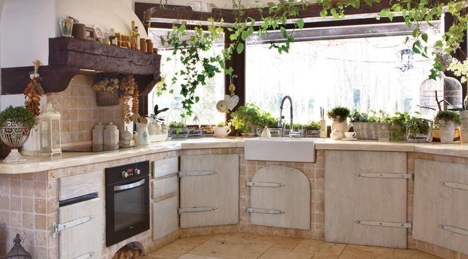 Znalezione obrazy dla zapytania wiejska wyspa kuchenna