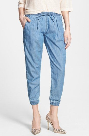 BLANKNYC Denim Jogger Pants available at #Nordstrom