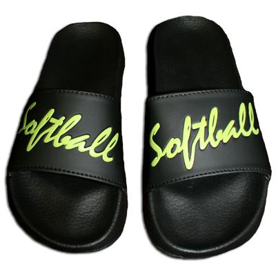Softball sandals to wear to and from the field so you don't mess up those cleats!