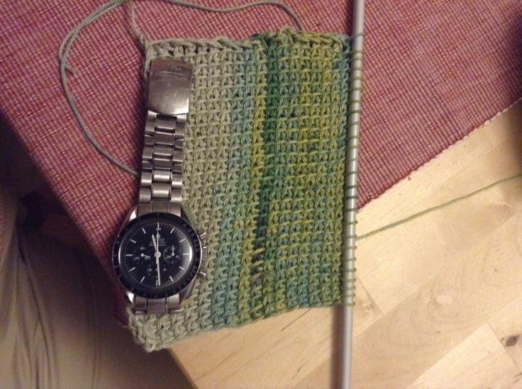 Trying some Tunisian crochet