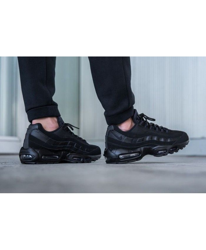 best website 62391 79889 Nike Air Max 95 Triple Black Shoes,Classic color and classic ...