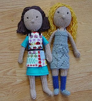 Possible pattern to make my own softie for Elf on the Shelf games - Blank Slate Doll Pattern by Yarnigans