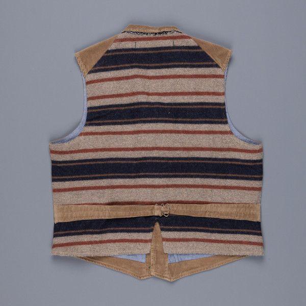 Scartilab Rib 408 Waistcoat Light Brown – Frans Boone Store