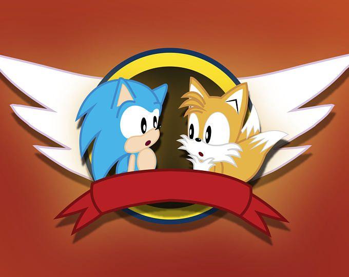 Sonic y las colas de emblema