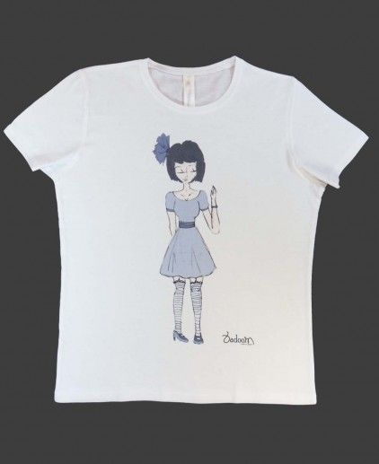 CAMISETA BLUE DRESS B http://www.badoom.es/tienda/camisetas/