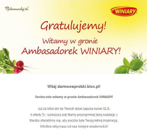 Chłodniki Winiary