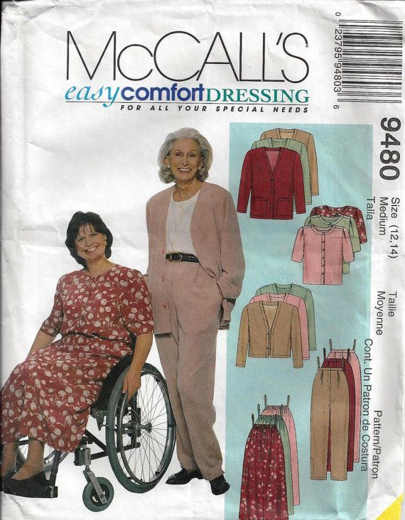 McCalls 9480 Easy Comfort Dressing  for Special by OldMavisVintage, $6.00