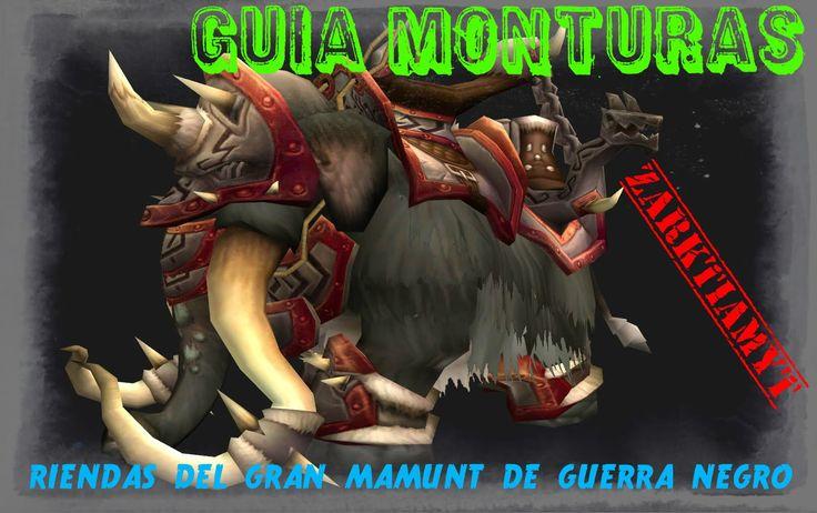Camaras de Archavon devildruid guia monturas riendas del gran mamut de g...