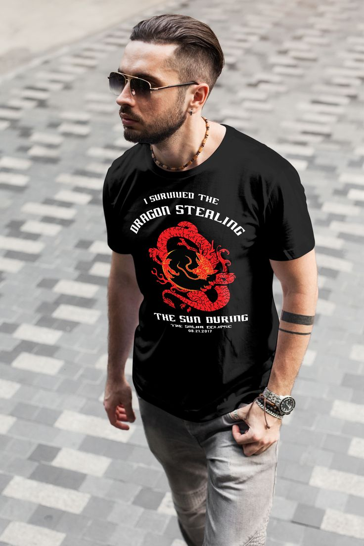 See this #AmazonGiveaway for a chance to win: Mens I Survived the Dragon Stealing the Sun Solar Eclipse T-Shirt 2XL Black. NO PURCHASE NECESSARY. Ends the earlier of Aug 20, 2017 11:59 PM PDT, or when all prizes are claimed. See Official Rules http://amzn.to/GArules. Like most of us, you probably can't wait to see if you won this shirt. We understand your excitement - feel free to order it here http://amzn.to/2xbiz9B