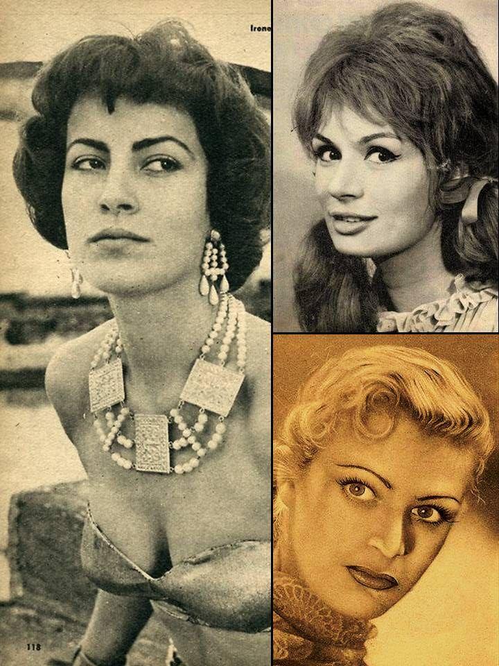 Irene Papas, Rika Diallina & Melina Mercouri
