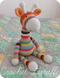 free croche tpatterns giraffe theme