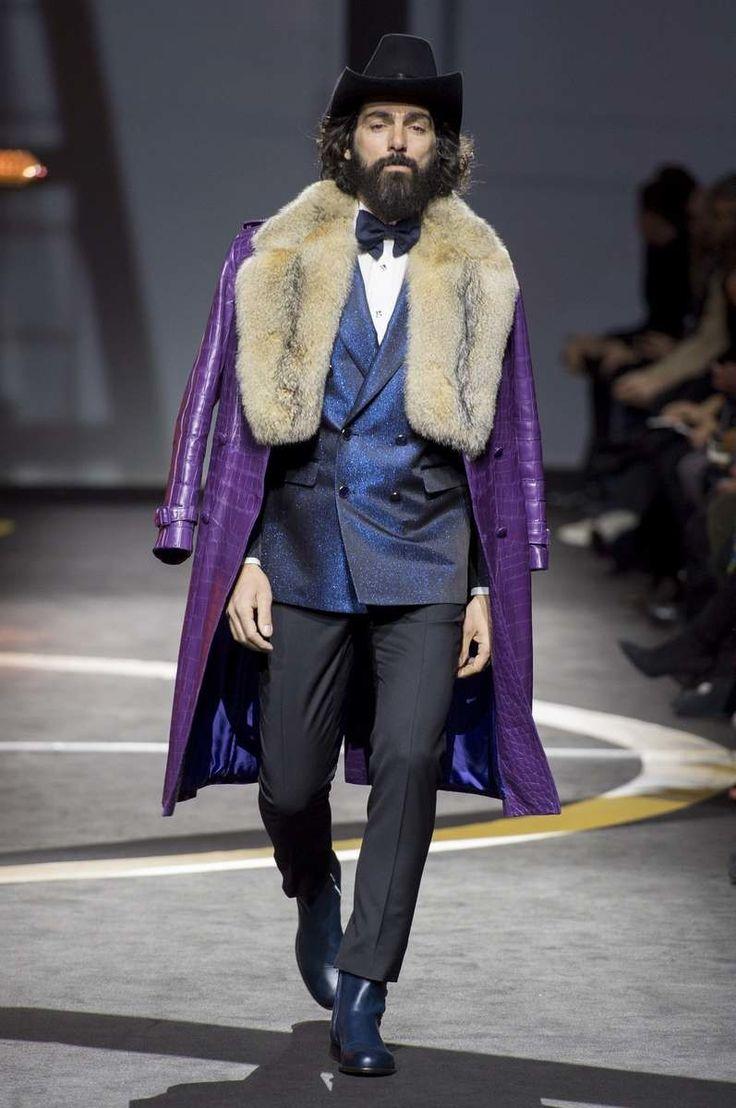 El purpura, el color de Prince que se coló en la paleta masculina del otoño 2017