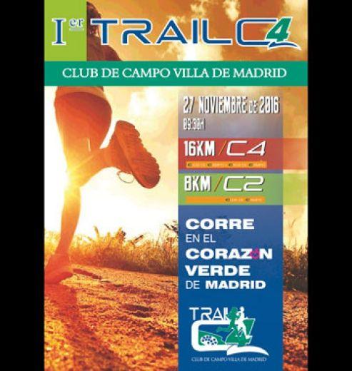 Marcha ciclista I Trail Caser C4 Club de Campo Villa de Madrid  en Madrid, Madrid.