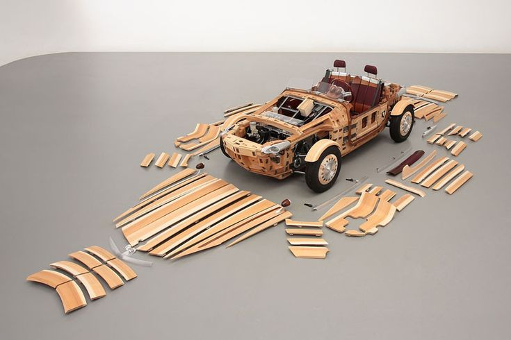 Toyota has made a new concept car out of wood