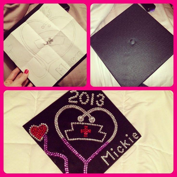 Pics For > Decorated Nursing Graduation Caps