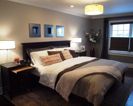 Home Decor Traditional Bedroom. ベッドルームのインテリアコーディネイト実例