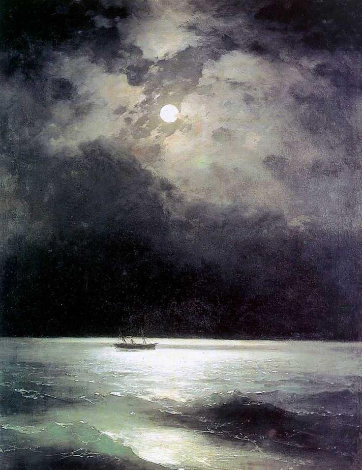 moonage daydream ::  이반 아이바조프스키의 '한밤의 흑해'.