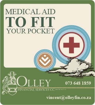 Getting you linked to the medical aid package that suits YOU, your pocket and your lifestyle.  Authorised Discovery brokers.  celri@olleyfin.co.za