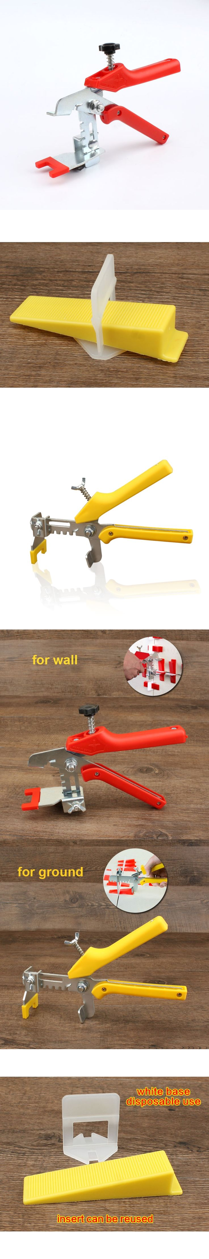 Tiles Leveling System Spacer Straps Clip for Wall or Ground Pliers