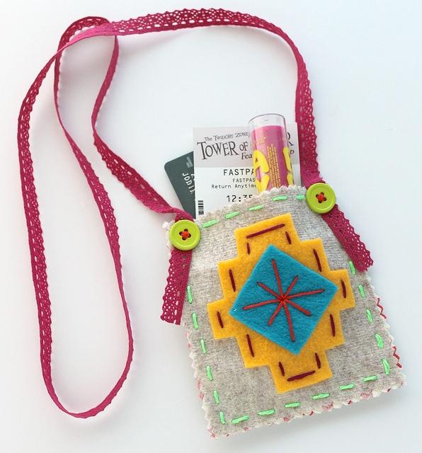 Festival Pouch DIY Tutorial by Jodie Rackley Lova Revolutionary by wildolive, via Flickr